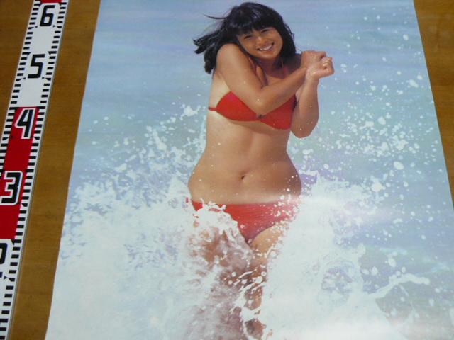 河合奈保子水着ポスター